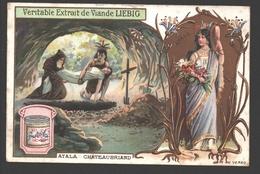 Atala - Chateaubriand - Liebig - Vintage Chromo - Signed Liebig On The Back - Liebig