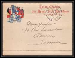 1591 Carte Postale En Franchise (postcard) Guerre 1914/1918 Secteur Postal 22 - Marcophilie (Lettres)