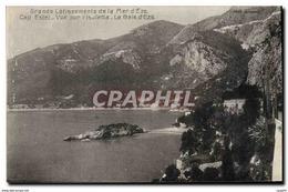 CPA Grands Latissements De La Mer D'Eze Cap Estel Vue Sur L'Isoletta La Baie D'Eze - Eze