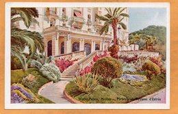 Menton Winter Palace 1907 Postcard - Menton