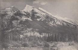 Canada - Banff - Mt. Rundel And CPR Hotel - Edition Howard Chapman Victoria - Banff