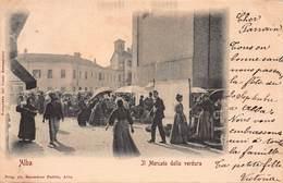 CPA ALBA - Il Mercato Della Verdura - Cuneo