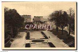 CPA Gisors Pittoresque Vieux Chateau Tour Du Gouverneur Et Tour Du Prisonnier - Gisors