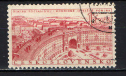 CECOSLOVACCHIA - 1955 - Miners' Housing Project - USATO - Gebraucht