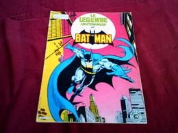 COLLECTION  SUPERMAN ET BATMAN °  LA LEGENDE INCONNUE  DE BATMAN   1980  °°° 34 X 25 Cm - Superman