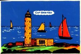 62 CAP GRIS-NEZ CARTE FEUTRINE / A 580 - Otros Municipios