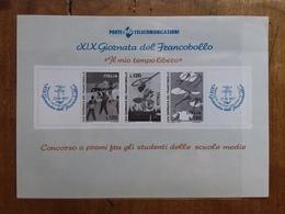 REPUBBLICA - Giornata Francobollo 1977 - Foglietti Erinnofilo Delle Poste - Nuovo + Spese Postali - 6. 1946-.. Repubblica