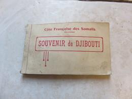 Carnet De 20 Cartes Souvenir De Djibouti - Gibuti