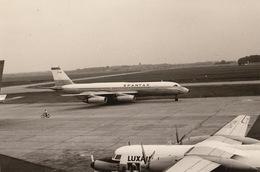 Photo Originale Avion Aviation Convair CU-990/30-5 Spantax à Zaventem - Aviation