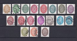 Deutsches Reich - 1927/33 - Dienstmarken - Michel Nr. 114/129+131 - Gest. - 70 Euro - Deutschland