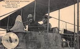 CPA NOS AVIATEURS MILITAIRES - Général Gilinski, Chef D' Etat-Major De L'armée Russe, Piloté Par Le Lieutenant Marzac - Airmen, Fliers