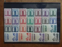 EX COLONIE FRANCESI - MAROCCO - Torre Assan Nn. 204/22 + Aerea Nn. 50/54 Nuovi ** (manca 1 Valore) + Spese Postali - Marocco (1891-1956)