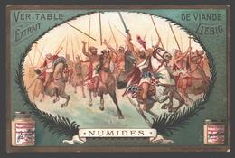 Numides - Liebig - Vintage Chromo - Signed Liebig On The Back - Liebig