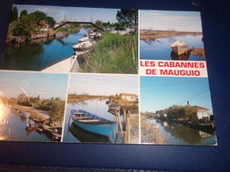 CPM CPMS HERAULT   MAUGUIO  LES CABANES - Mauguio
