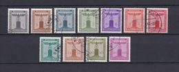 Deutsches Reich - 1942 - Dienstmarken - Michel Nr. 155/165 - Gest. - 300 Euro - Deutschland