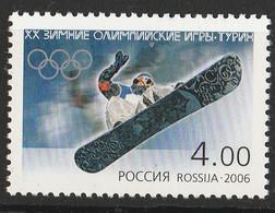 PIA - RUSSIA - 2006 :  Olimpiadi Invernali Di Torino Snowboard - (Yv 6916) - 1992-.... Federazione
