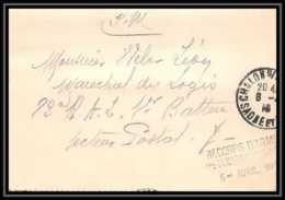 3435 Carte Lettre France Guerre 1914/1918 Santé Hopital Temporaire N°2 Chalon-sur-Saone 1916 - Guerre De 1914-18