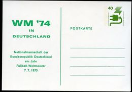 1 YEAR GERMANY WORLD CHAMPION 1975 Germany PP69 D1/001 Cat. 4,00 € - Fußball-Weltmeisterschaft