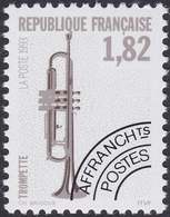 FRANCE, 1993, Instruments De Musique (Yvert 228 Au 231 ) - Préoblitérés