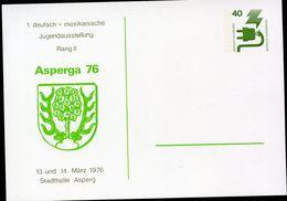 STADTWAPPEN ASPERG 1976  Bund PP69 D2/001 NGK 3,00 € - Briefe U. Dokumente