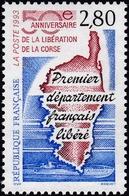 FRANCE, 1993, Libération De La Corse (Yvert 2829 ) - France