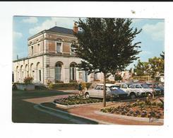 Joue Les Tours Mairie Place General Leclerc Neuve TBE Automobiles  DS... Ed Valloire - Other Municipalities