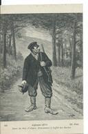 CARTE FANTAISIE   ( ALPHONSE LEVY ) DANS LES BOIS D'ALSACE .  BRACONNIER A L 'AFFÛT DES BOCHES - Illustratoren & Fotografen