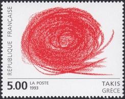 FRANCE, 1993, Art Contemporain (Yvert 2834-2835 ) - France