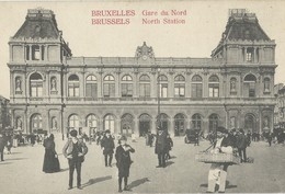Bruxelles  Gare Du Nord         Marchand Ambulant - Belgio