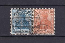 Deutsches Reich - 1921 - Zusammendrucke - Michel Nr. W 15 - Gest. - 35 Euro - Deutschland