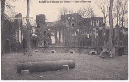 RUINES DE L'ABBAYE DE VILLERS LA VILLE - COUR D'HONNEUR - Villers-la-Ville