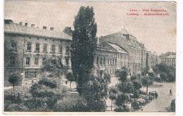 UKR-19  LWOW / LEMBERG : Akademickastrasse - Ukraine
