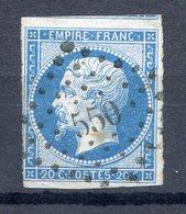 N° 14A Ou B...pour Oblitérations, Teintes Ou Variétés...........ref 311219 - 1853-1860 Napoléon III