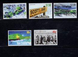 904751284 2007  SCOTT 2105 2109 POSTFRIS MINT NEVER HINGED EINWANDFREI (XX) SCOTT BASE ANTARCTICA 50TH ANNIV - Unused Stamps