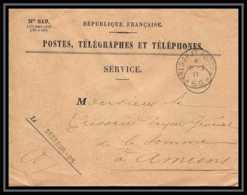 4197 Lettre Cover France Guerre War 1914/1918 Secteur N°95 Poste ét Télégraphe 1917 - Poststempel (Briefe)