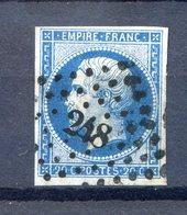 N° 14A Ou B...pour Oblitérations, Teintes Ou Variétés.......ref 311219 - 1853-1860 Napoléon III