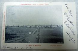 CPA-KP-PC- Erytree - COLONIA ITALIANA --  MASSAUA IL PORTO 1900 VERY RARE - Erythrée