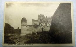CPA-KP-PC- Erytree - COLONIA ITALIANA --  CASTELLI DI GONDAR - Erythrée