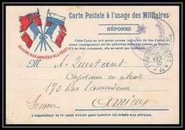 4424 Carte Postale Franchise Militaire France Guerre War 1914/1918 Secteur N°4 Maroc Spahis 1915 - Marcophilie (Lettres)