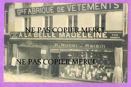 SAINT LO - Rare Carte Publicitaire Magasin De Vetements - Saint Lo