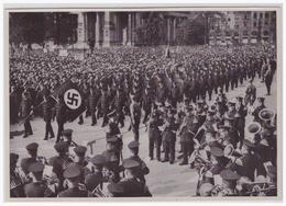 DT- Reich (000497) Propaganda Sammelbild Deutschland Erwacht Bild 172, Kundgebung Der NSDAP Der Berliner - Briefe U. Dokumente