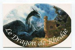 CdV °_ Resto-11-Rennes Le Chateau-Le Dragon De Rhedae - Cartes De Visite