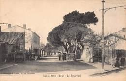 CPA Saint-Anne - 1096 - Le Boulevard - Südbezirke, Mazargues, Bonneveine, Pointe Rouge, Calanque-Felsen