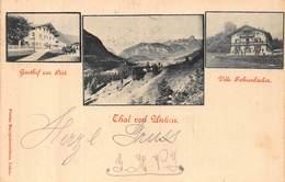 THAL Von UNKEN AUSTRIA~GASTHOF Zur POST~VILLE FAHRENBACHER~1898  FLORIAN MAYRGSCHWENDTNER PHOTO POSTCARD 42970 - Österreich