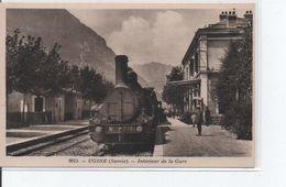 Ugine-intérieur De La Gare - Ugine