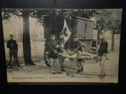 17-BEVERLOO CAMP BOURG LEOPOLD -carottier-ambulance-croix Rouge-infirmier  **ENVOI GRATIS VERZENDING** - Leopoldsburg (Camp De Beverloo)