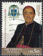 Portugal 2017 Oblitéré Used Archevêques De Braga D. Jorge Ferreira Da Costa Ortiga SU - 1910-... République