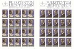 Zumstein 767-768 / Michel 828-829 Bogen-Serie Einwandfrei Postfrisch/** - Blocks & Kleinbögen