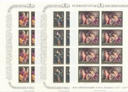 Zumstein 593-595 / Michel 655-657 Bogen-Serie Einwandfrei Postfrisch/** - Blocks & Kleinbögen
