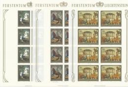 Zumstein 655-657 / Michel 717-719 Bogen-Serie Einwandfrei Postfrisch/** - Blocks & Kleinbögen
